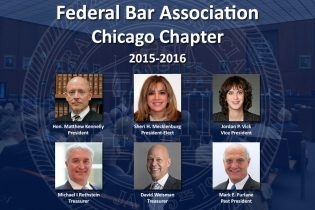 Federal Bar Association Officers Chicago Chapter 2015-2016