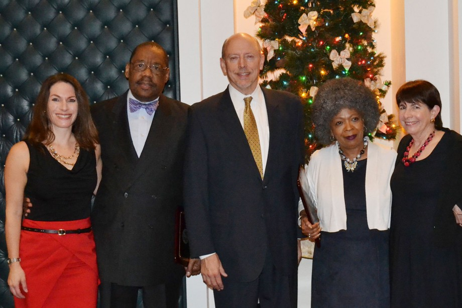 Kathryn Smith Matkov Award - Randolph Stone and Herschella Conyers with members Alison Siegler, Carol Brook,  Matthew Kennelly