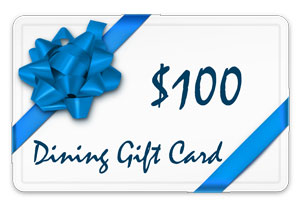 100 dining gift card