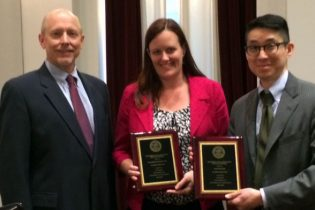 Gordon Award, Elizabeth Pendleton, David Chu1407 3×2