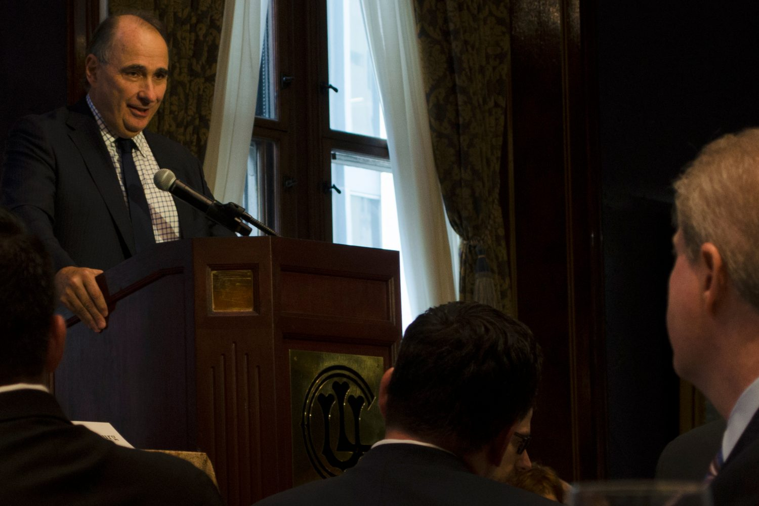 David Axelrod Addresses 2017-18 Officer & Director Installation Ceremony