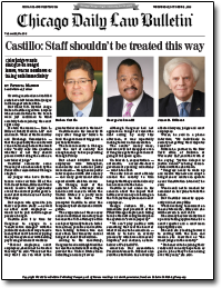 Chief Judge Castillo's Comments From Installation Luncheon