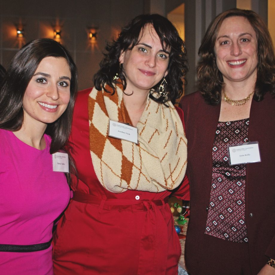 Federal Bar Association Chicago Chapter Board Members, Past President, Treasurer