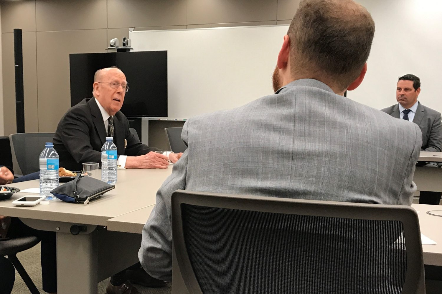 Chambers Lunch With 7th Circuit's Judge William Bauer