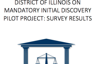 1st Year Report On Mandatory Initial Discovery Pilot Project