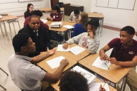 FBA Members Volunteer At Legal Prep Charter Academy