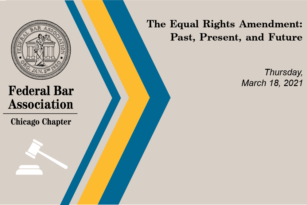 Video: The Equal Rights Amendment: Past, Present, And Future