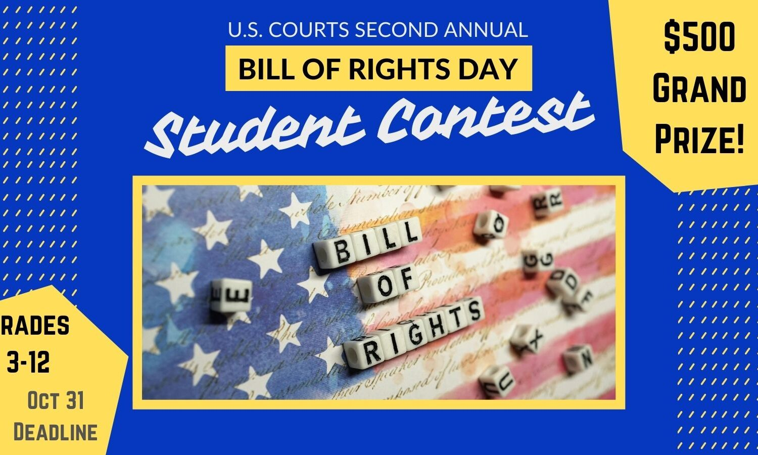 Bill Of Rights Day 2021 Student Contest